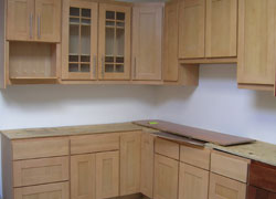 Complete Cabinet Remodel In A Kitchen